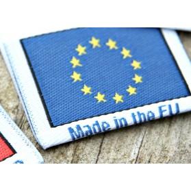 Etiketter fremstillet i Europa